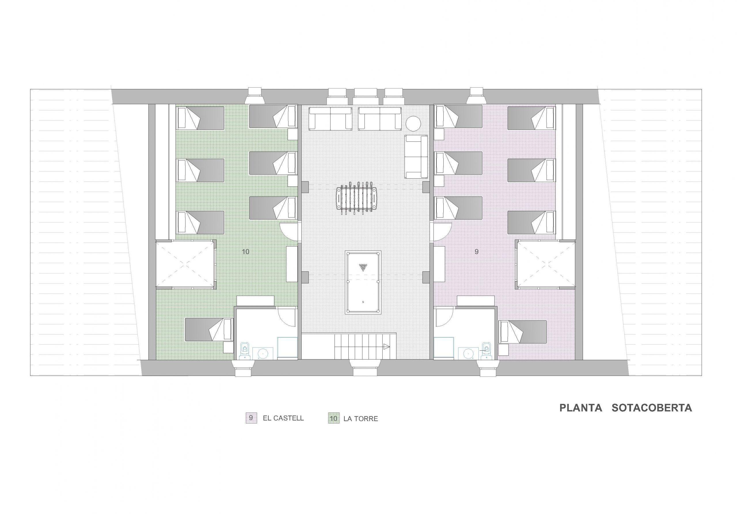 3 MASIA - 2a Planta (Golfes)